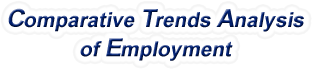 California - Comparative Trends Analysis of Total Employment, 1969-2015