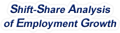 Shift-Share Analysis of California Employment Growth and Shift Share Analysis Tools for California